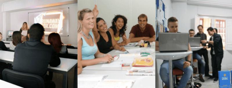 best spanish schools proyecto español granada