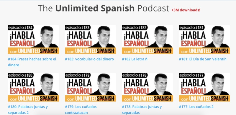 Unlimited Spanish Podcast