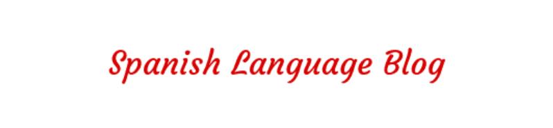 spanish language blog