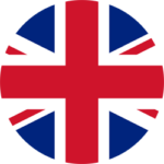 Round Flag of the United Kingdom